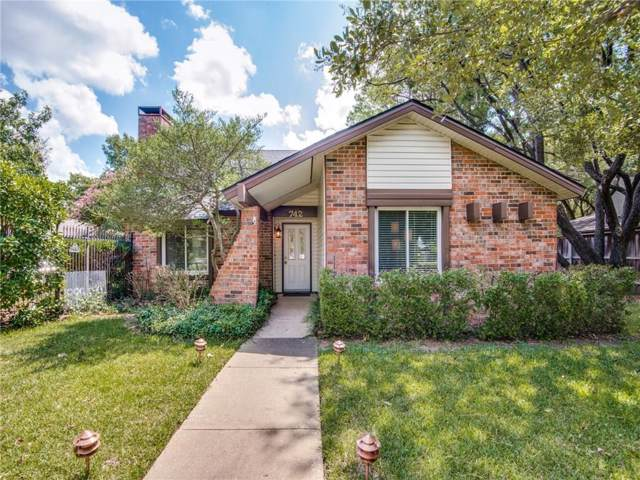 742 Sweet Gum Drive, Lewisville, TX 75067 (MLS #14182271) :: The Rhodes Team
