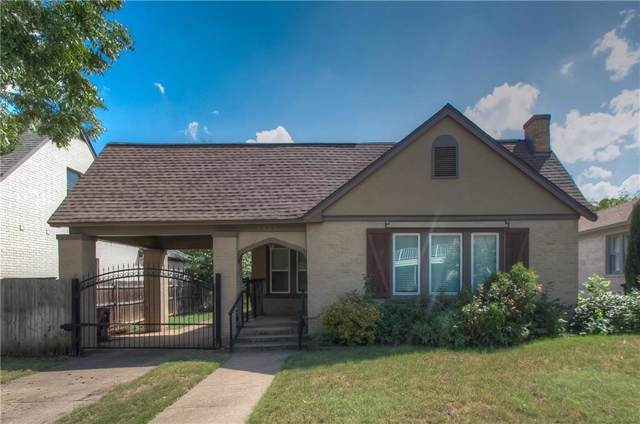 3925 W 7th Street, Fort Worth, TX 76107 (MLS #14182339) :: The Heyl Group at Keller Williams