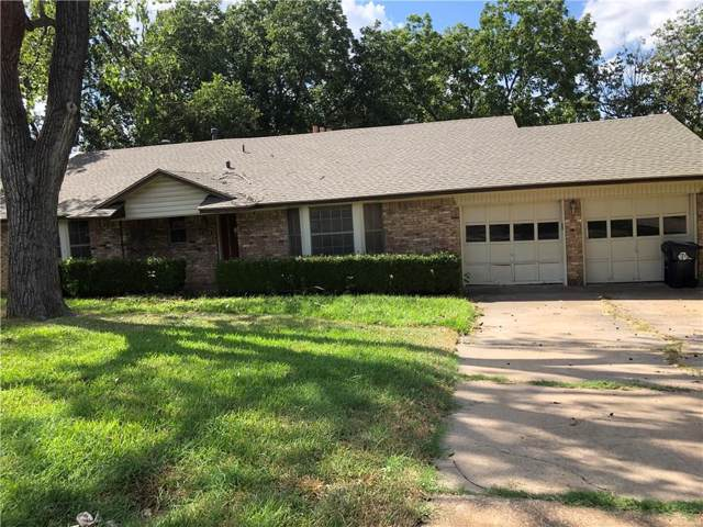 1319 E Sherman Drive, Denton, TX 76209 (MLS #14182347) :: Baldree Home Team