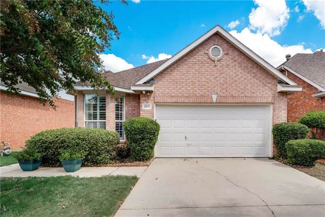 6874 Amberdale Drive, Fort Worth, TX 76137 (MLS #14182435) :: Real Estate By Design