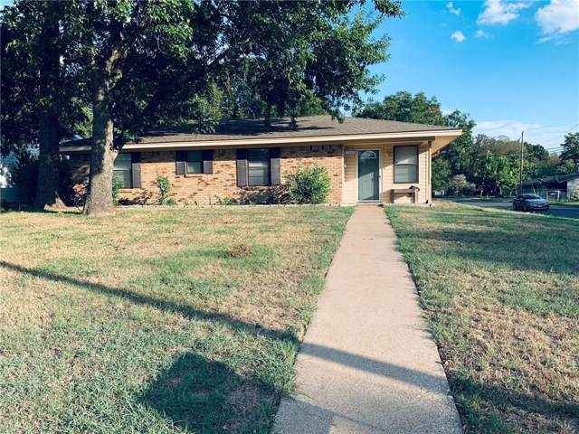 2409 W 4th Avenue, Corsicana, TX 75110 (MLS #14182475) :: RE/MAX Town & Country