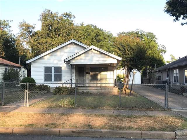 718 S Marlborough Avenue, Dallas, TX 75208 (MLS #14182482) :: HergGroup Dallas-Fort Worth