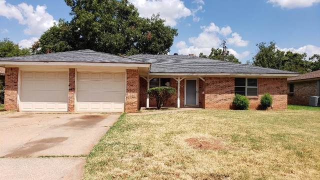 4034 Brookhollow Drive, Abilene, TX 79605 (MLS #14182558) :: The Heyl Group at Keller Williams