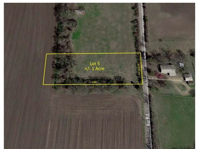Lot 5 Ike Road, Waxahachie, TX 75165 (MLS #14182598) :: All Cities Realty