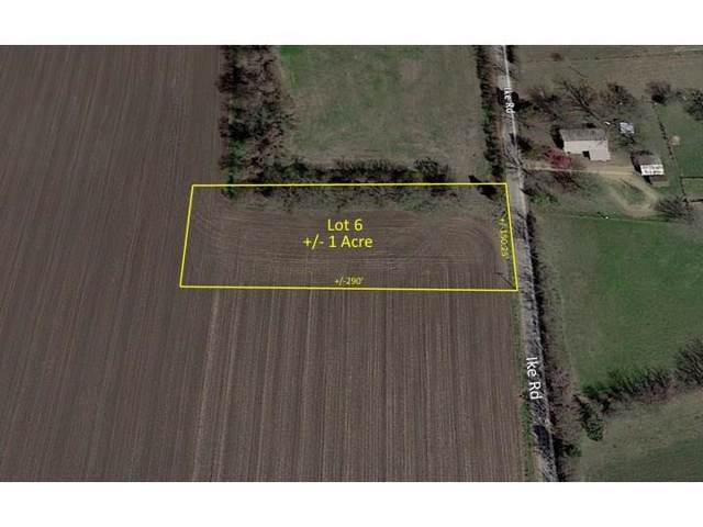 Lot 6 Ike Road, Waxahachie, TX 75165 (MLS #14182619) :: All Cities Realty