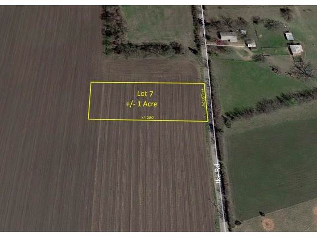 Lot 7 Ike Road, Waxahachie, TX 75165 (MLS #14182626) :: All Cities Realty