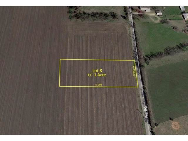 Lot 8 Ike Road, Waxahachie, TX 75165 (MLS #14182631) :: All Cities Realty