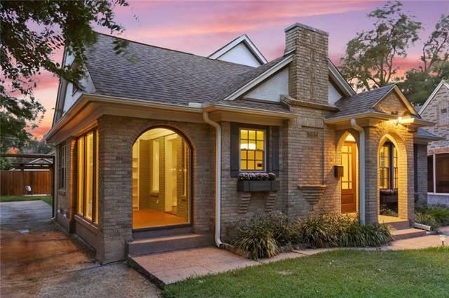 5834 Monticello Avenue, Dallas, TX 75206 (MLS #14182680) :: HergGroup Dallas-Fort Worth