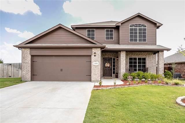 229 Saratoga Drive, Ponder, TX 76259 (MLS #14182695) :: Team Tiller