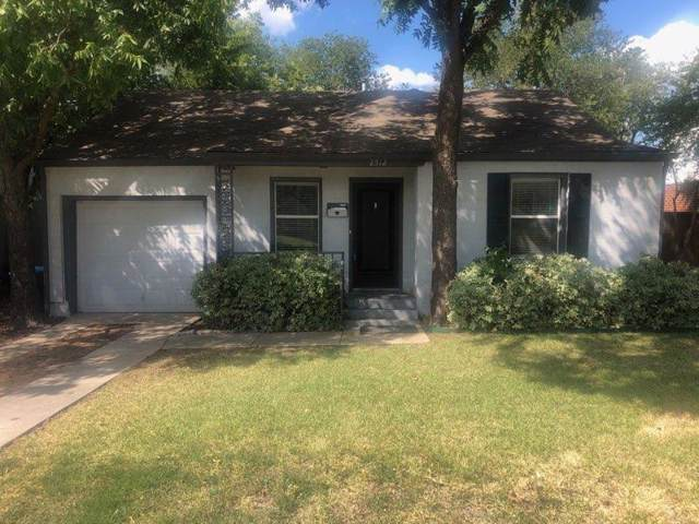 2512 Mission Street, Fort Worth, TX 76109 (MLS #14182725) :: Century 21 Judge Fite Company
