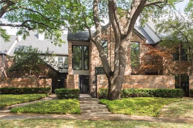 4354 Westside Drive, Highland Park, TX 75209 (MLS #14182772) :: Caine Premier Properties