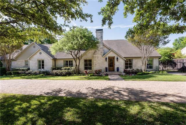 5514 Caruth Boulevard, Dallas, TX 75209 (MLS #14182795) :: All Cities Realty