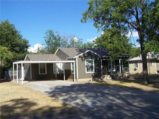 2100 6th Street, Brownwood, TX 76801 (MLS #14182907) :: The Heyl Group at Keller Williams