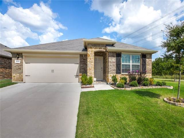 1070 Sewell Drive, Fate, TX 75189 (MLS #14183101) :: The Heyl Group at Keller Williams