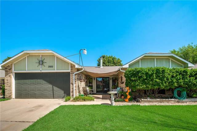 3920 Longmeadow Way, Fort Worth, TX 76133 (MLS #14183163) :: Kimberly Davis & Associates