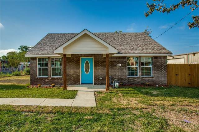 216 Newsome, Mesquite, TX 75149 (MLS #14183222) :: The Heyl Group at Keller Williams