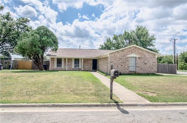 1501 Amherst Drive, Denton, TX 76201 (MLS #14183239) :: The Real Estate Station