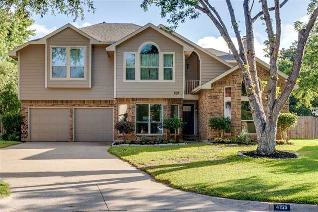 4155 Cedar Drive, Grapevine, TX 76051 (MLS #14183272) :: The Star Team | JP & Associates Realtors