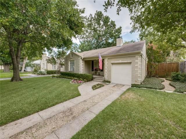 5730 Southwestern Boulevard, Dallas, TX 75209 (MLS #14183291) :: Robbins Real Estate Group
