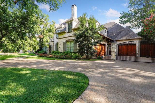 6314 Lavendale Avenue, Dallas, TX 75230 (MLS #14183296) :: Robbins Real Estate Group
