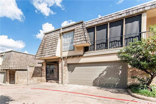 8560 Park Lane #75, Dallas, TX 75231 (MLS #14183312) :: RE/MAX Town & Country