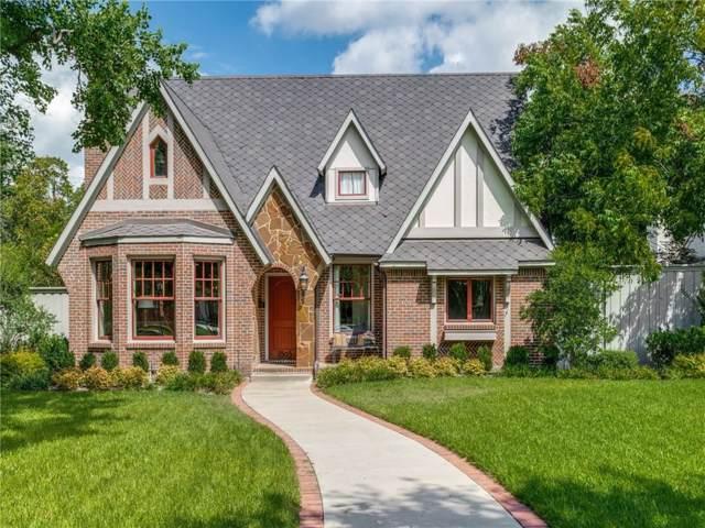 7803 Bryn Mawr Drive, Dallas, TX 75225 (MLS #14183313) :: The Heyl Group at Keller Williams
