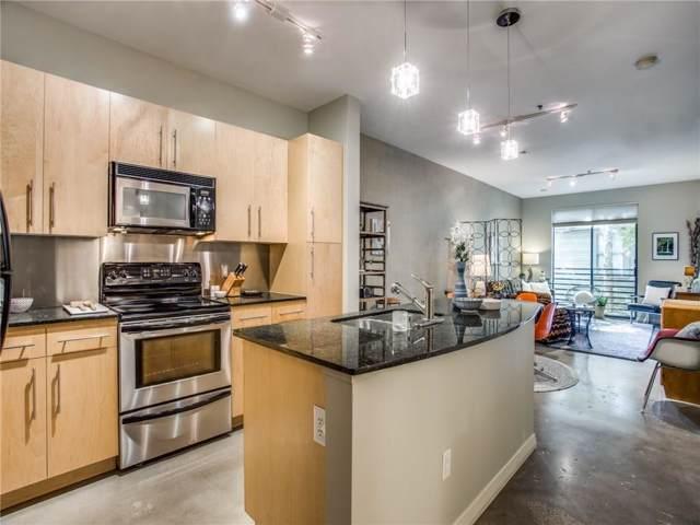 4111 Gilbert Avenue #106, Dallas, TX 75219 (MLS #14183380) :: Kimberly Davis & Associates