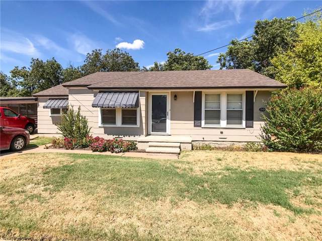 1041 W Cisco Street, Munday, TX 76371 (MLS #14183384) :: RE/MAX Town & Country