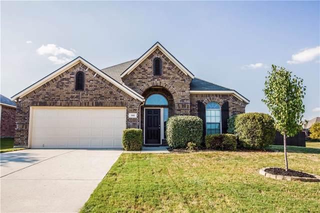 301 Woodridge Drive, Oak Point, TX 75068 (MLS #14183392) :: The Heyl Group at Keller Williams
