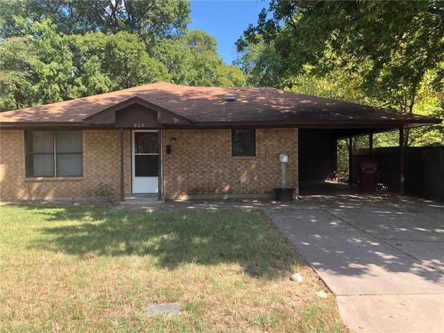 824 W 9th Street, Bonham, TX 75418 (MLS #14183422) :: Ann Carr Real Estate