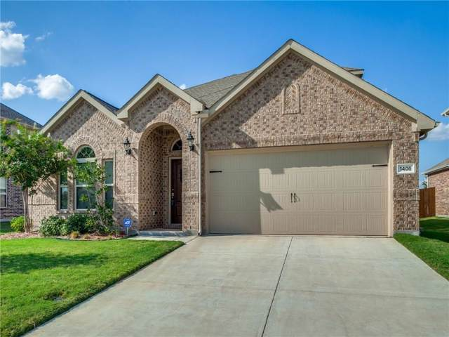 1408 Crossvine Drive, Anna, TX 75409 (MLS #14183448) :: Lynn Wilson with Keller Williams DFW/Southlake