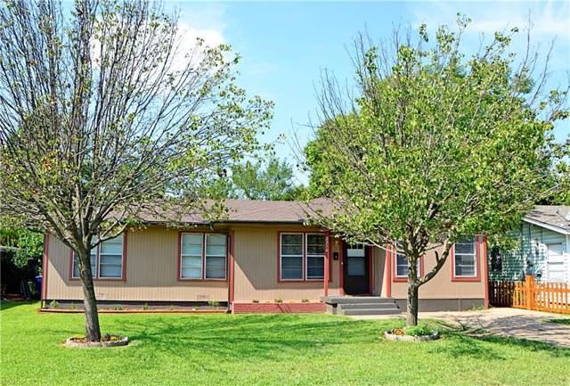 2316 N Shannon Street, Sherman, TX 75092 (MLS #14183463) :: Baldree Home Team