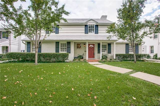 4660 Beverly Drive, Highland Park, TX 75209 (MLS #14183511) :: The Heyl Group at Keller Williams