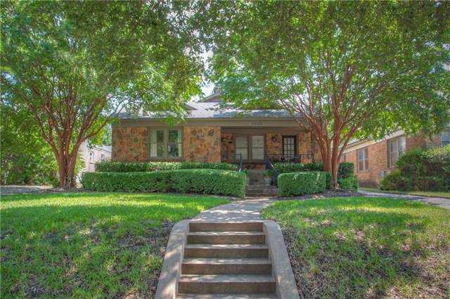 2563 Stadium Drive, Fort Worth, TX 76109 (MLS #14183601) :: The Heyl Group at Keller Williams