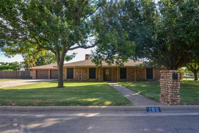 185 Brittain Circle, Stephenville, TX 76401 (MLS #14183701) :: The Chad Smith Team