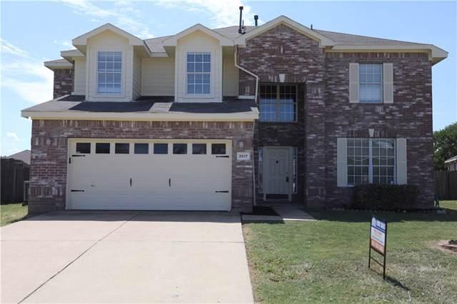 2617 Ridgeoak Trail, Mansfield, TX 76063 (MLS #14183831) :: The Tierny Jordan Network