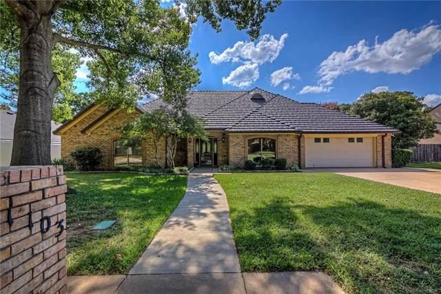 1103 Pebble Beach Drive, Mansfield, TX 76063 (MLS #14183868) :: Lynn Wilson with Keller Williams DFW/Southlake