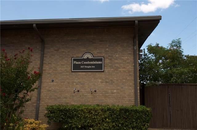 2627 Douglas Avenue #115, Dallas, TX 75219 (MLS #14184006) :: Vibrant Real Estate