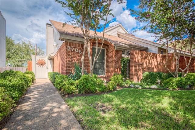 9705 Springtree Lane, Dallas, TX 75243 (MLS #14184071) :: Team Hodnett