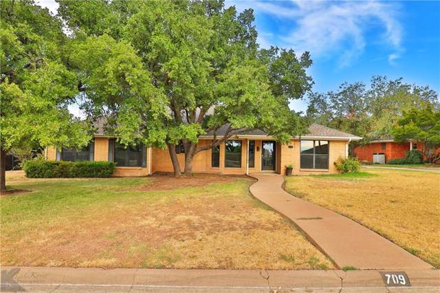 709 Scott Place, Abilene, TX 79601 (MLS #14184076) :: The Chad Smith Team