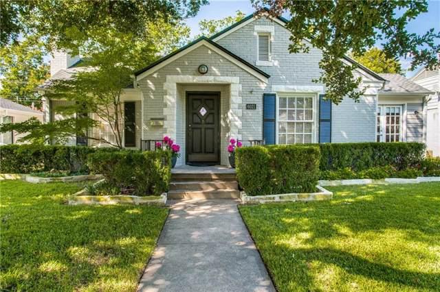 6021 Anita Street, Dallas, TX 75206 (MLS #14184163) :: HergGroup Dallas-Fort Worth