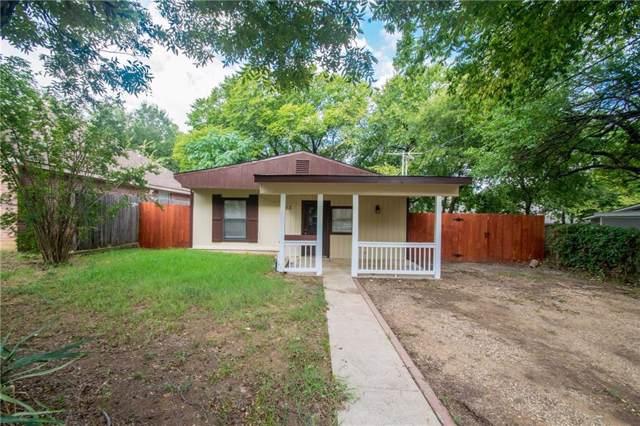 303 Adolphus Avenue, Lake Dallas, TX 75065 (MLS #14184250) :: Baldree Home Team