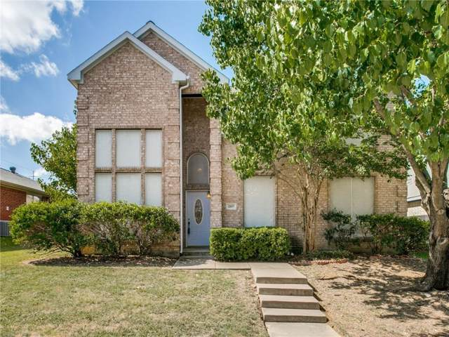 1105 Creekbluff Drive, Carrollton, TX 75010 (MLS #14184287) :: Baldree Home Team
