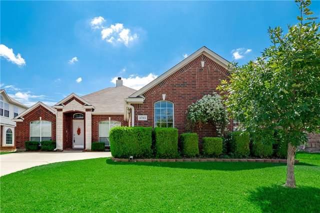 4705 Auburn Ridge Drive, Fort Worth, TX 76123 (MLS #14184302) :: Real Estate By Design