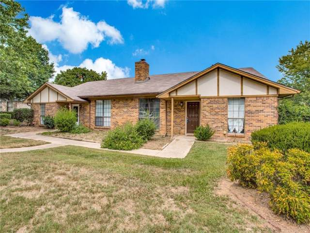 124 Hollyhill Lane, Denton, TX 76205 (MLS #14184378) :: All Cities Realty