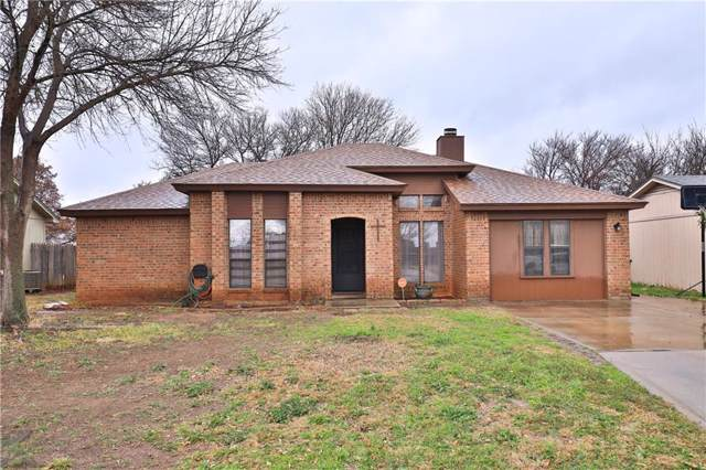 3750 Georgetown Drive, Abilene, TX 79602 (MLS #14184457) :: The Paula Jones Team | RE/MAX of Abilene