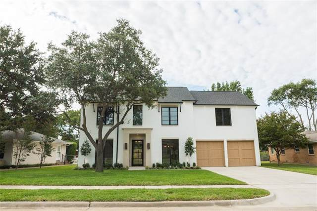 4156 Beechwood Lane, Dallas, TX 75220 (MLS #14184465) :: The Mitchell Group