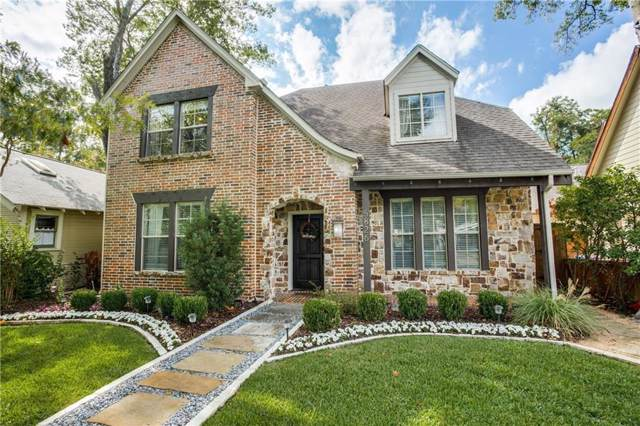 5826 Palo Pinto Avenue, Dallas, TX 75206 (MLS #14184536) :: The Heyl Group at Keller Williams
