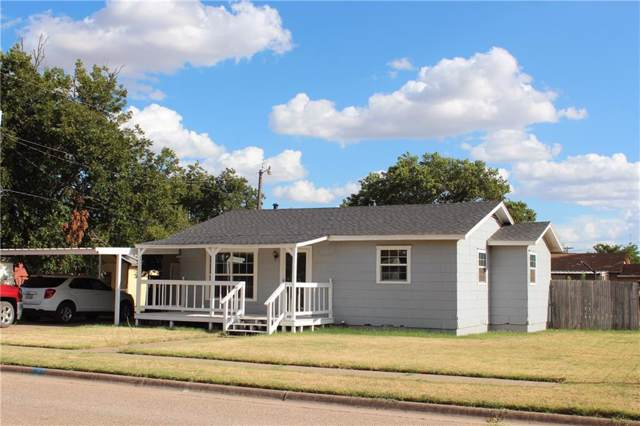 410 W H, Munday, TX 76371 (MLS #14184586) :: RE/MAX Town & Country