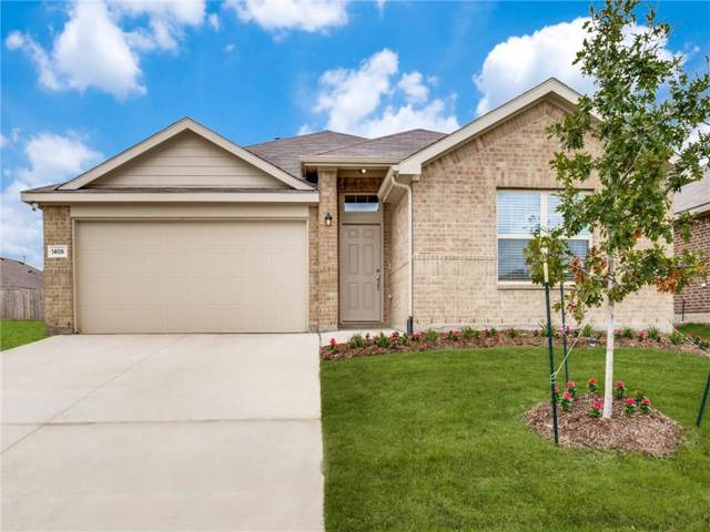 1409 Trumpet Drive, Fort Worth, TX 76131 (MLS #14184603) :: All Cities Realty